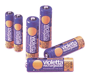 Violetta Ni-MH Rechargeable Battery
